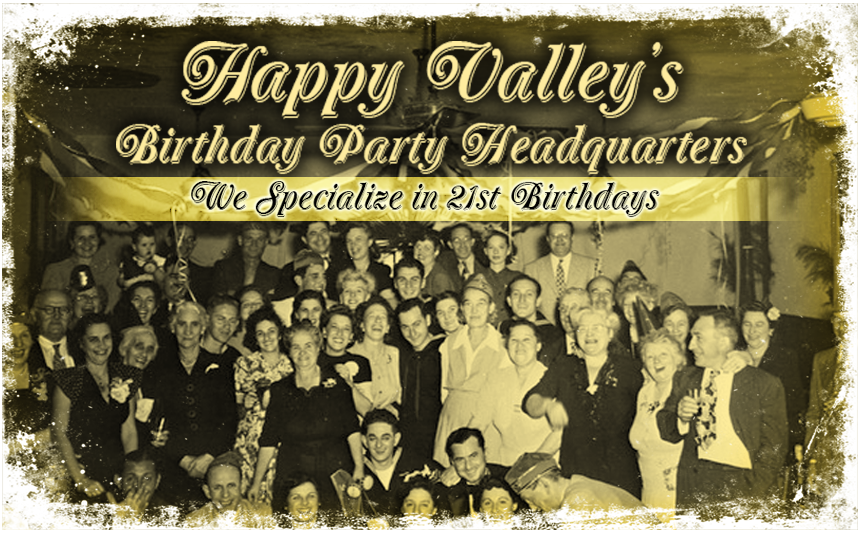 Birthday Party Advertisement