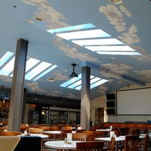 Champs Sports Grill Front Dining Room